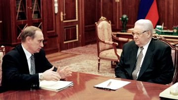 AOP Vladimir Putin Boris Jeltsin 1