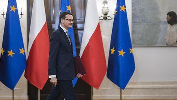 Puolan pääministeri Mateusz Morawiecki