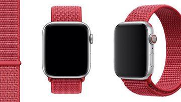 PRODUCT(RED) Sport Loop -ranneke Apple Watch