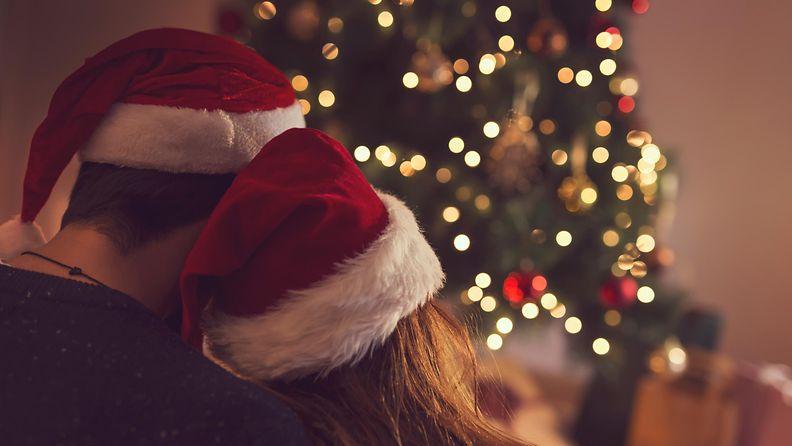 pariskunta, joulu