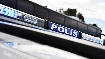 Poliisi kuvitus kuvituskuva