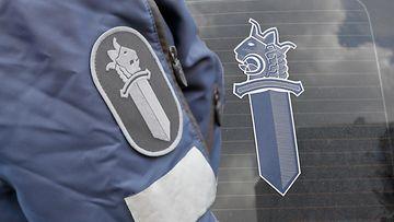 Poliisi virkamerkki AOP