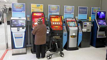 peliautomaatti, veikkaus, mummo AOP