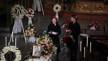 Ari Behn hautajaiset