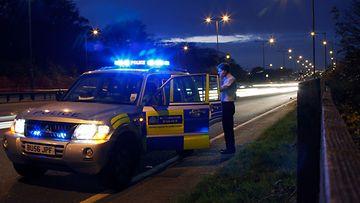 poliisiauto iso-britannia