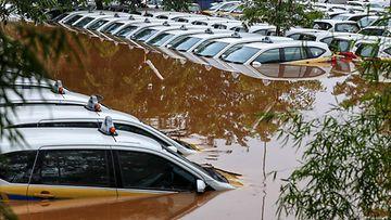 LK: Indonesia tulvat rankkasateet