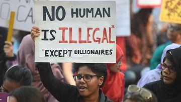 LK: Intian mielenosoitukset