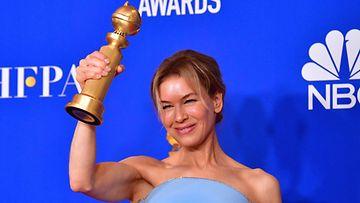 LK Renee Zellweger Golden Globe