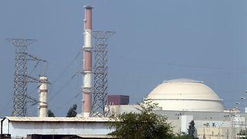 LK Iran ydinvoimala Bushehr