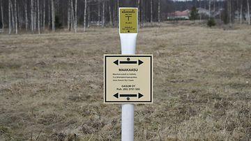 maakaasu maakaasuputki Vantaa 2016