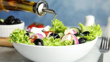välimeren ruokavalio, kreikkalainen salaatti