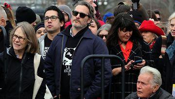 AOP Joaquin Phoenix and Martin Sheen