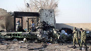 Lento 752 Iran Ukraina