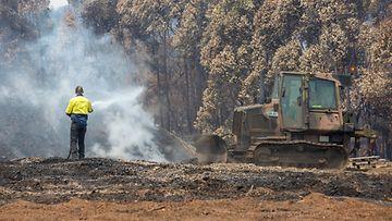 Australia maastopalot palomies 13.1.2020