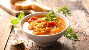 Linssikeitto keitto kasvisruoka