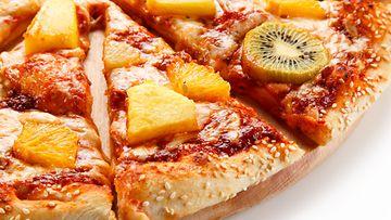 Pizza ananas kiivi kiivipizza