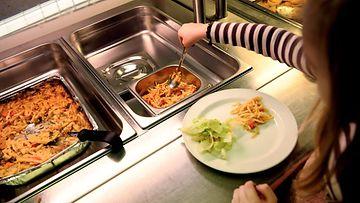 vegaaniruoka koulu LK