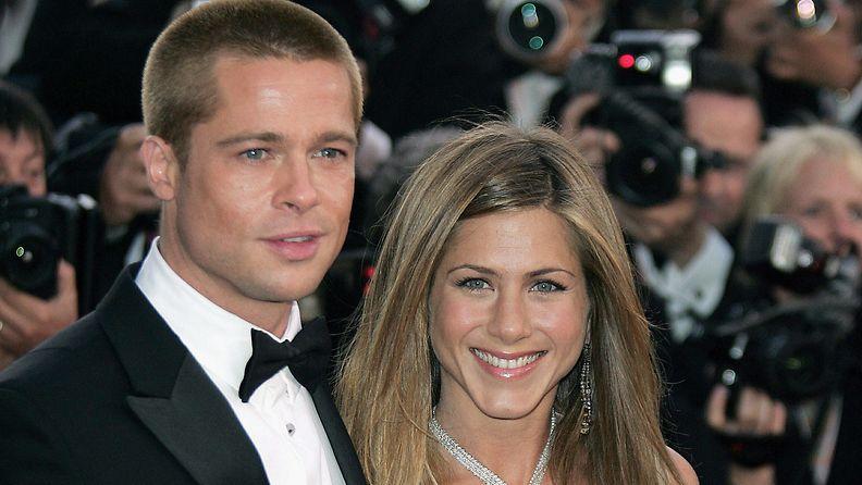 Brad Pitt ja Jennifer Aniston 2004