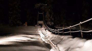 HANDOUT urho kekkosen kansallispuisto silta romahdus