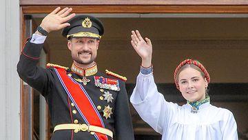 Haakon ja Ingrid Alexandra