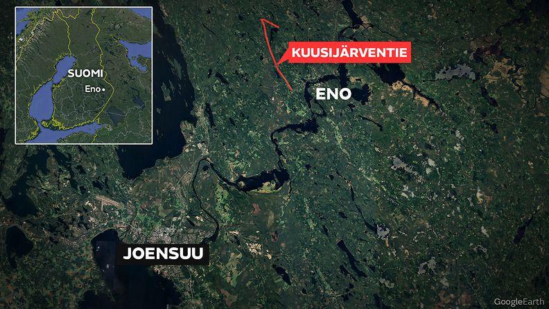 Kuusijärventie Eno Joensuu