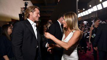 Brad Pitt ja Jennifer Aniston 2020