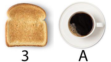 paahtoleipä kahvi
