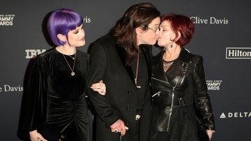 Kelly, Ozzy ja Sharon Osbourne Grammy 2020