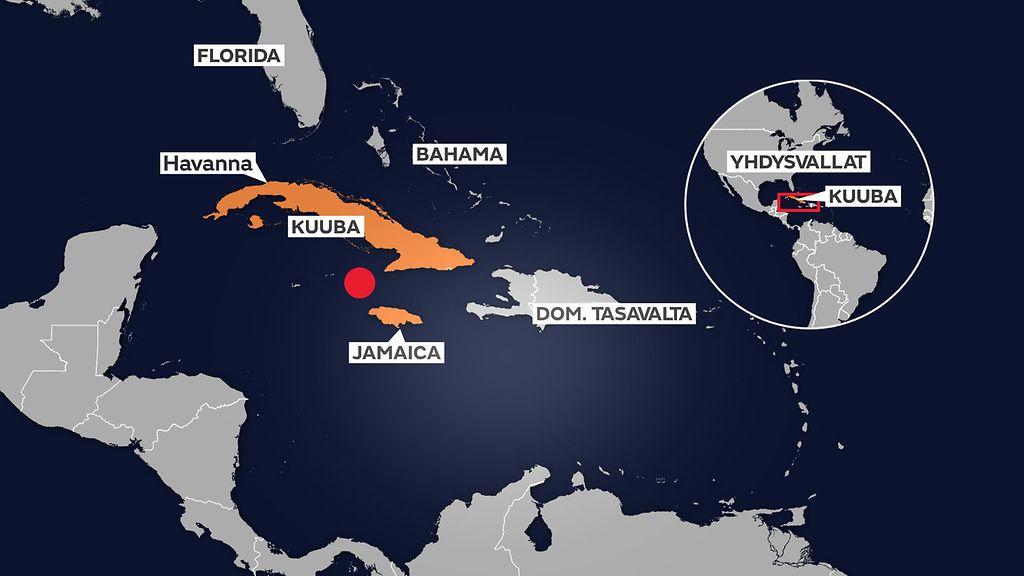 Jamaikalla 7 7 Magnitudin Maanjaristys Tuntui Miamissa Saakka