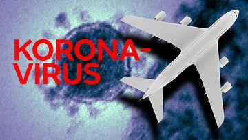 2901-KORONAVIRUS lentokone