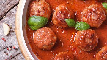 lihapullat tomaattikastike