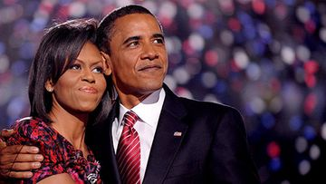 Michelle ja Barack Obama (Kuva: EPA/SHAWN THEW)