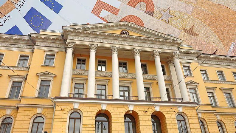 valtiovarainministeriö kuvituskuva raha