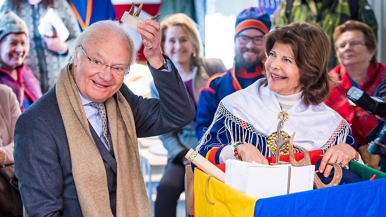 Kaarle Kustaa ja Silvia Saamelaisten kansallispäivä (1)