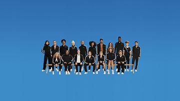 Adidas All Stars team
