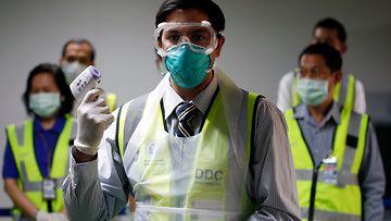 koronavirus korona virus Thaimaa 7.2.2020 5