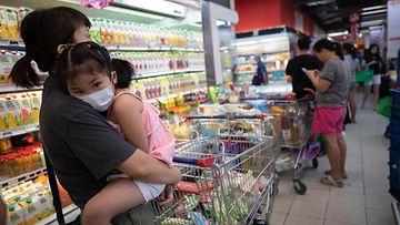 koronavirus korona virus Singapore 8.2.2020 2