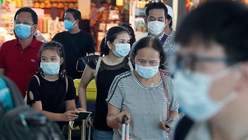 koronavirus korona virus Indonesia 8.2.2020 1