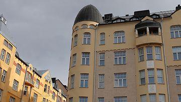 kerrostalo kuvituskuva Helsinki