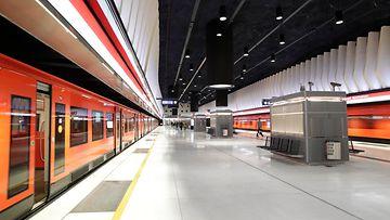 Koivusaaren metroasema. Kuva: Länsimetro Oy.