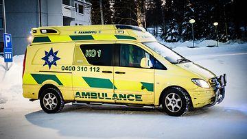 äkkihoppu ambulanssi veho