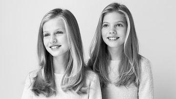 Espanjan prinsessat Leonor ja Sofia 2020