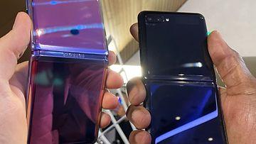 Galaxy Z Flipin kaksi värivaihtoehtoa Suomessa