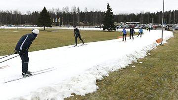 LK hiihtoa ilman lunta Espoo (1)