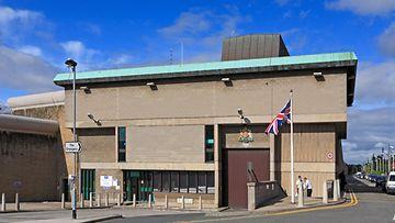Wakefieldin vankilan sisäänkäynti Britannia (AOP)