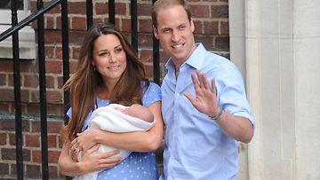 Catherine, William ja George
