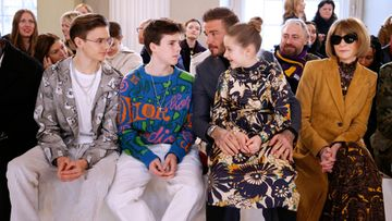 Romeo, Cruz, David ja Harper Beckham