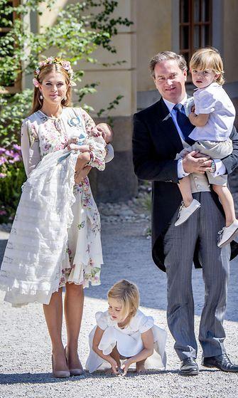 Madeleine, Chris ja lapset