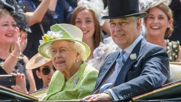 Kuningatar Elisabet ja prinssi Andrew