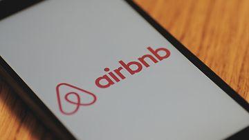 airbnb logo kännykkä